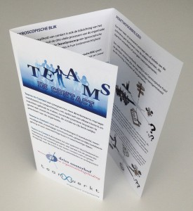 Foto Brochure Teams in Contact